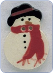 Snowman Button (SKU: MH86003-B)