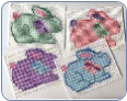 FREE Easter Bunny Coaster Pattern