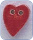 Medium Red Folk Heart Button (SKU: MedRedHeart86259)