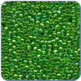 MH00167*Glass Seed Beads -Christmas Green (SKU: MH00167)