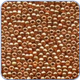 MH03038*Antique Glass Seed Beads -Ginger (SKU: MH03038)