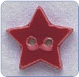 Very Small Red Star Button (SKU: StarButtonVSmRed)